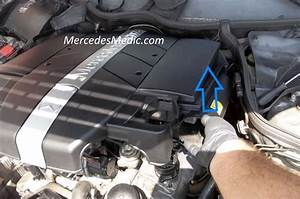 Engine Cover Remove  U2013 Mb Medic