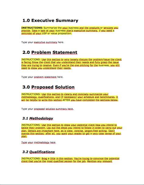 business proposal template bravebtr