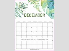 14 FREE Printable December 2018 Calendar and Planners!