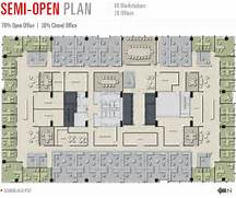 Open Office Layout Design by 180 Walnut At The Banks Floorplans Large Flexible Floor Plates