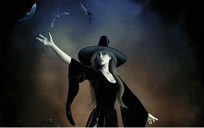 Witch Witches Dark Magic Mystic Hat Wallpapers