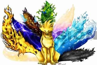Creatures Dragon Deadly Elemental Fox Wolf Anime