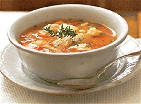 cuisine soupe de poisson recette soupe de riz au poisson