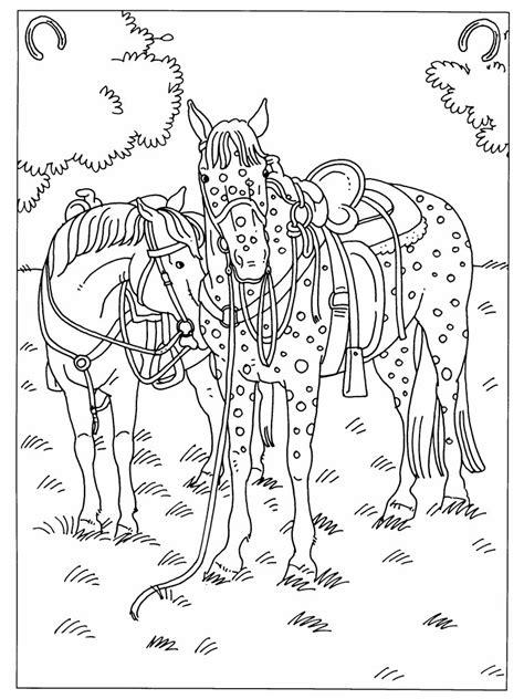 Kleurplaat Paardrijden Springen by Kleurplaten Paradijs Paarden