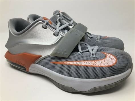 """Kevin durant shoes are not only reserved for athletes but also for regular people who want to look fashionable. CLEAN Nike KD 7 VII """"Wild Wild West"""" Orange Silver OKC ..."""