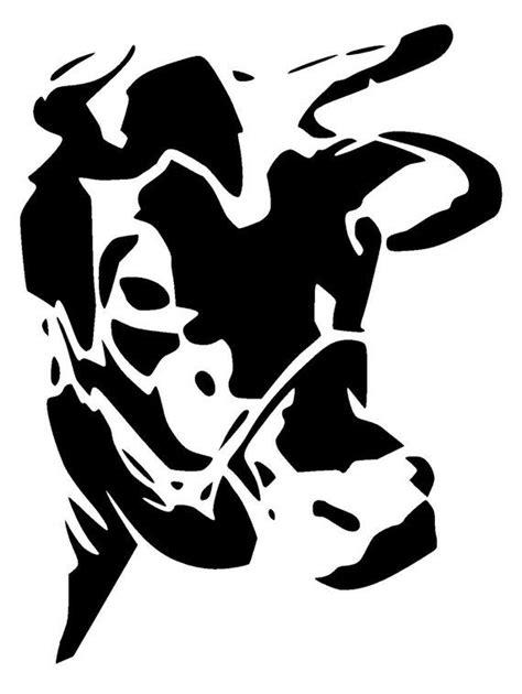 "6/6"" cow stencil Glass wall art Animal stencil Art"