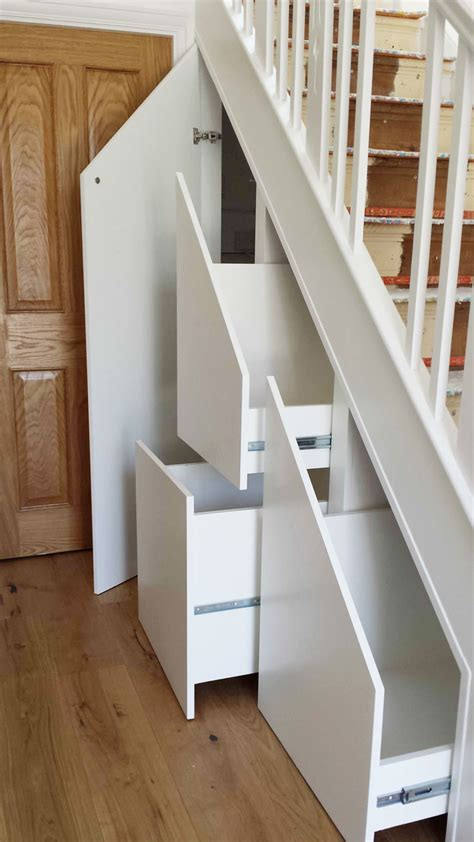 pull out drawers stairs storage in surrey