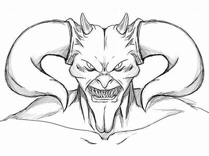 Demon Coloring Pages Printable Getcolorings