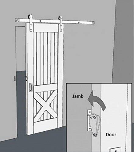 teardrop privacy lock for sliding door latch kit barn