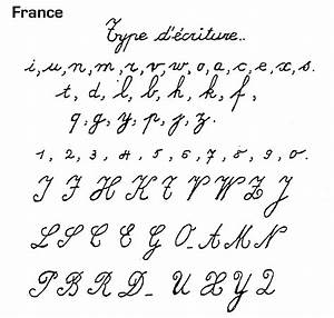 Worksheets. French Handwriting Alphabet. Opossumsoft ...