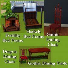 woodworking custom furniture  simsworkshop