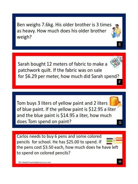 solving decimal word problems worksheets worksheets