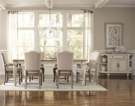 riverside furniture coventry  tone formal dining room