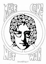 Coloring Famous Colouring Printable Lennon Hendrix John Jimi Sheets Singers Leonard Adult Kawhi Drawing Getcolorings Getdrawings Celebrities Templates Template sketch template