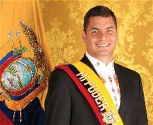 Ecuador President Rafael Correa Pays Foreign Company For ...