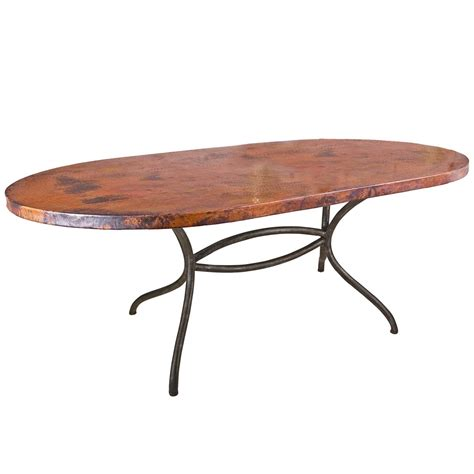 oval dining tables for italia wrought iron oval dining table with 72 x 44 in oval 7250