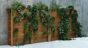 Mur En Bois Intérieur Decoratif : mur vegetal interieur exterieur accueil design et mobilier ~ Teatrodelosmanantiales.com Idées de Décoration