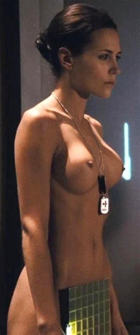 Naked Tanya Van Graan In Starship Troopers 3 Marauder