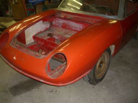 Fiat Spider Parts by 1967 Fiat 850 Spider Shell For Restoration Parts Or