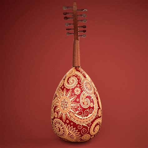 It probably originated over 3,500 year ago in persia, where it was called a barbat (oud). Arabic Oud instrument 3D Model - Buy Arabic Oud instrument ...
