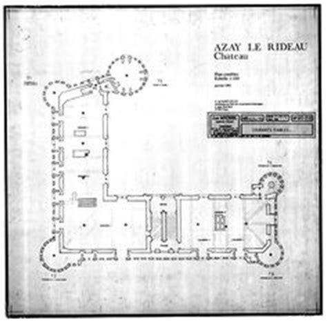 ch 226 teau d azay le rideau plan du rdc plan en l grand escalier 224 vol 233 es droites architecture