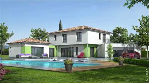 modele de maison moderne plan maison contemporaine maisons clair logis