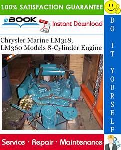 Chrysler Marine Lm318  Lm360 Models 8