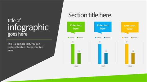 animated business infographics powerpoint template
