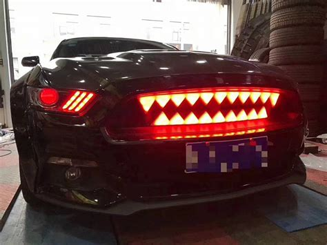 led shark tooth grille   mustang forum gt