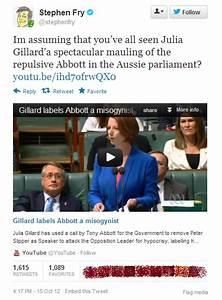 The 'repulsiv... Tony Abbott Misogynist Quotes