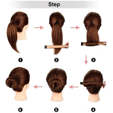 websun pcs bun maker hair bun shapers hair styling maker