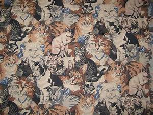 Cat fabric Tapestry fabric print 36X57