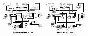 Vacuum Hose Diagram   Emission Controls  1975 Ford F250