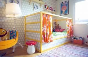 Ikea Kura Bett Umgestalten : ikea kura bett umgestalten farbe gelb tapete beziehen ~ Watch28wear.com Haus und Dekorationen