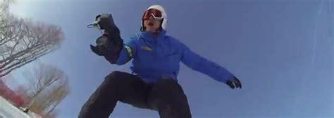 bbc reporter graham bell   ski