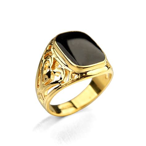 aliexpress buy real brand italina rings for men hot real italina 18krgp yellow gold white gold plated luxury