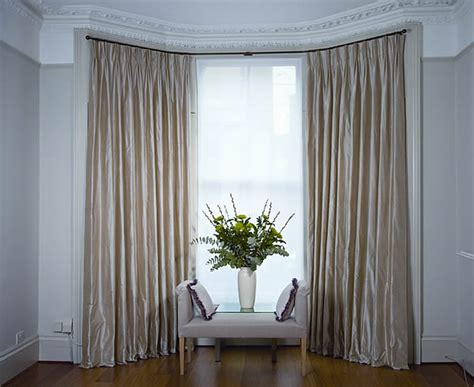 awesome curtains bay window on kitchen bay window curtains