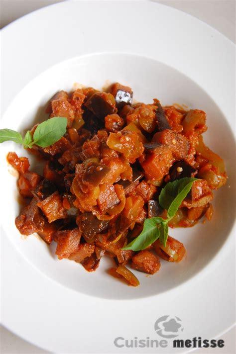 cuisine metisse meatfree monday caponata et tartines caponata brebis