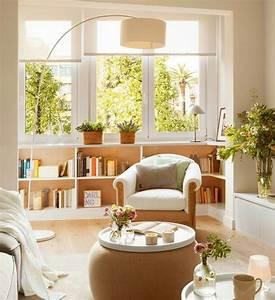 salon blanc et beige un coin douillet et paisible domine With tapis moderne avec canapé lin lavé