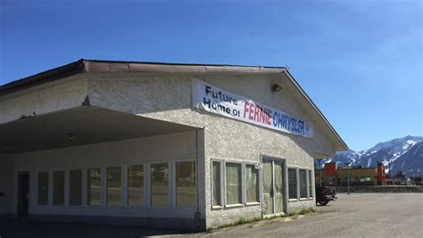 Chrysler Dealership Locations by Fernie Chrysler On The Move Kootenay Business