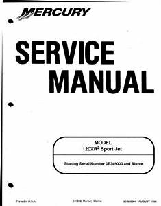 2007 Mercury Optimax 225 Service Manual