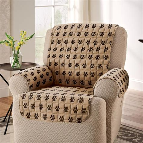 paw print recliner cover pet furniture covers walter