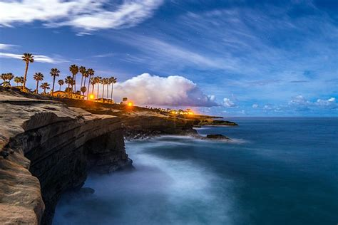 Sunset Cliffs Under The Night Sky San Diego Reader