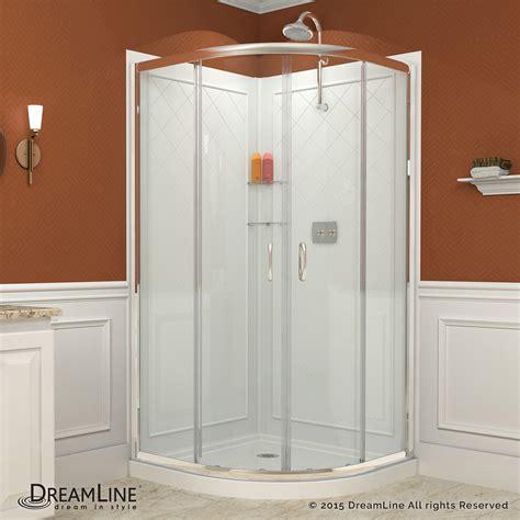 3 Shower Kit by Dreamline Dl 6153 01cl Prime 34 3 8x34 3 8 Quot Shower