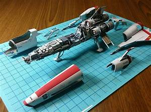 Awesome Paper Star Wars, Robots And Spaceship Models