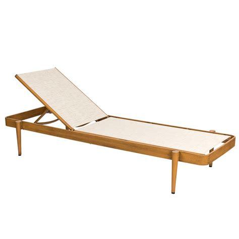 woodard 120470 daytona sling chaise lounge stacking