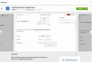 Electronic digital signatures with google drive docs for Google docs electronic signature