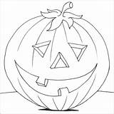 Pumpkin Coloring Pages Drawing Benefits Preschoolers sketch template