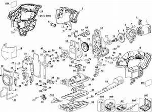 Dewalt Dcs331 20v Jig Saw Parts  Type 1  Parts
