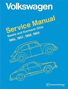 Volkswagen Beetle And Karmann Ghia Official Service Manual Type 1  1966  1967   U2026
